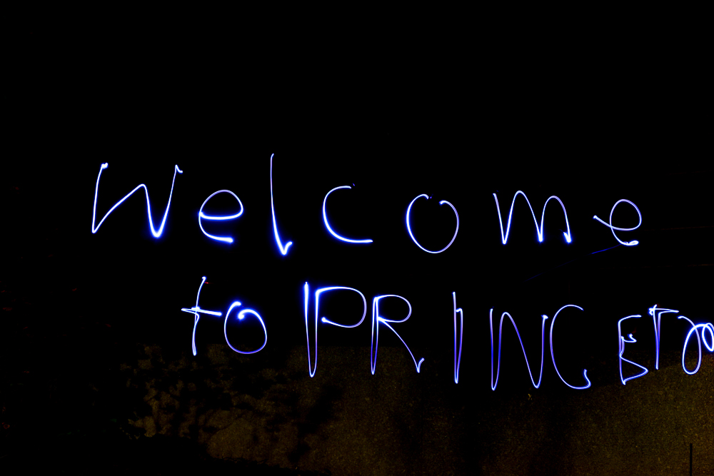 Welcome To Princeton University, Light Art