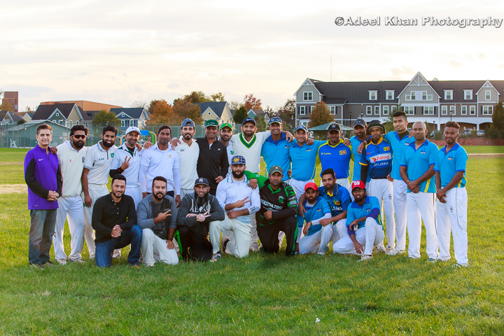 Millennium Cricket League Post game photos