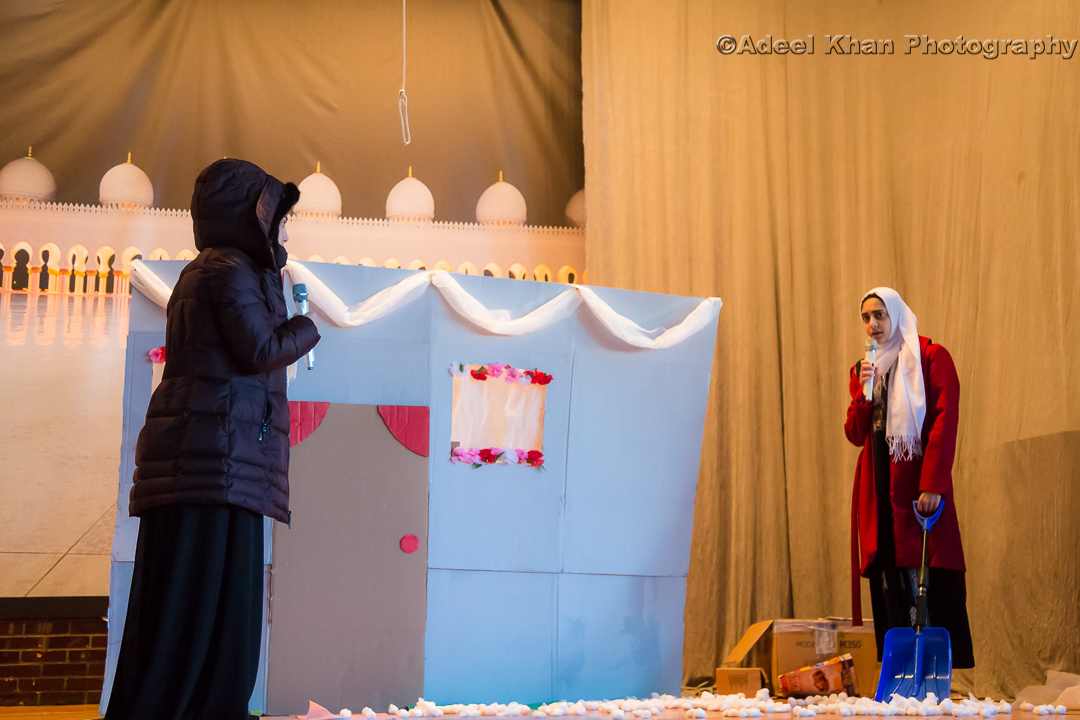 Skit by 8th Grade Darul Arqam student