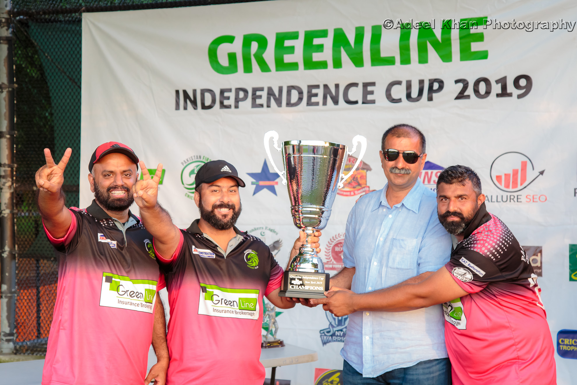 Greenline Independence Cup Champions!