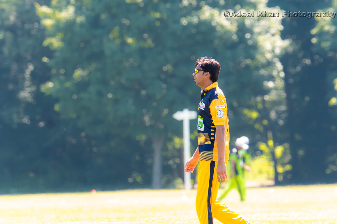 Mohammad Asif in action